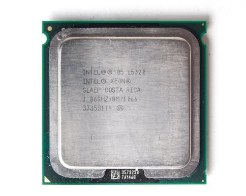Intel Xeon L5320 1.86GHz Quad Core 8Mb Cache Socket 771 CPU Processor SLAEP