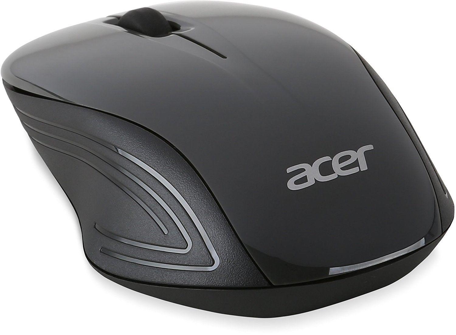 Acer Wireless Optical Mouse Wireless Technology Ergonomic Shape NP.MCE1A 008
