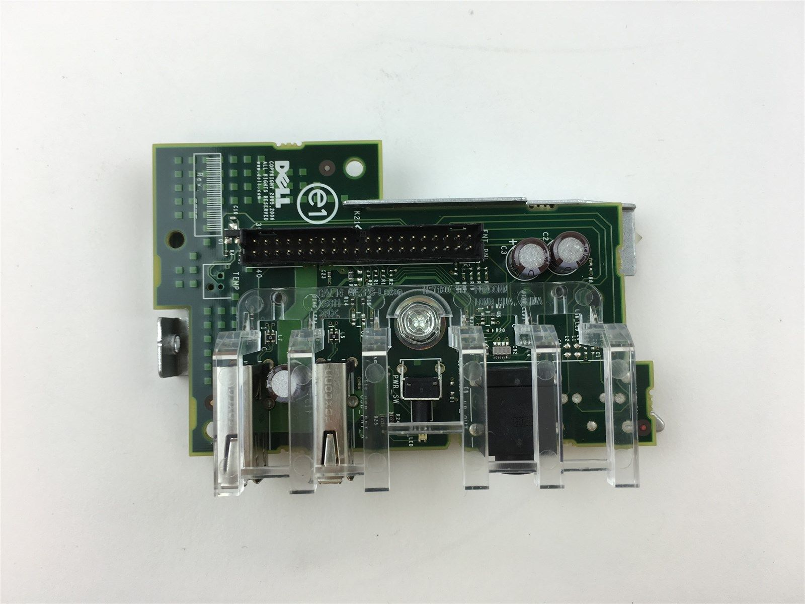 Dell Optiplex 320 Power Dual USB Audio Side I/O Panel Board Module UJ268 0UJ268