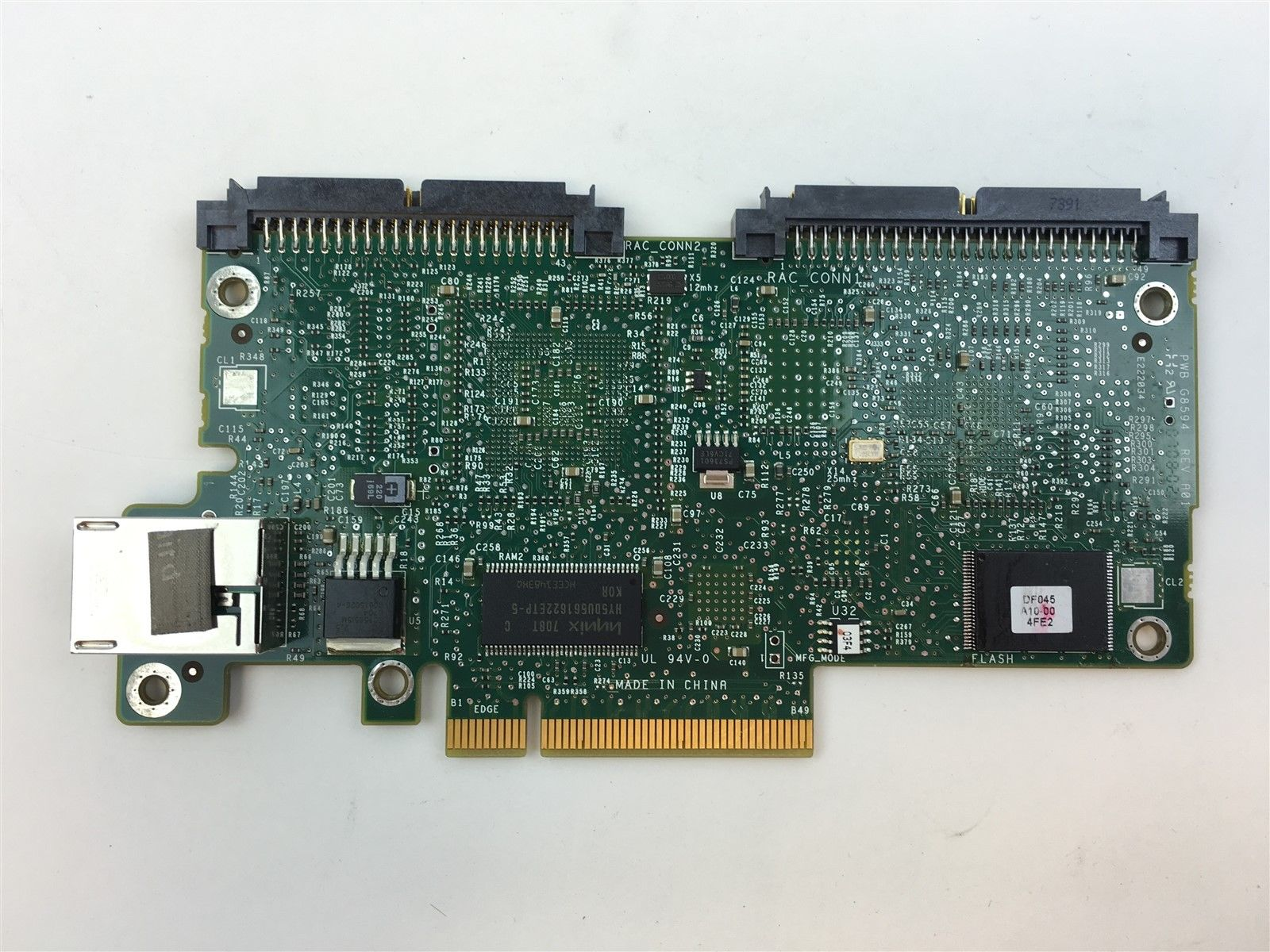 Dell PowerEdge 2950 1950 Server DRAC 5 Access Controller Card Board G8593 0G8593