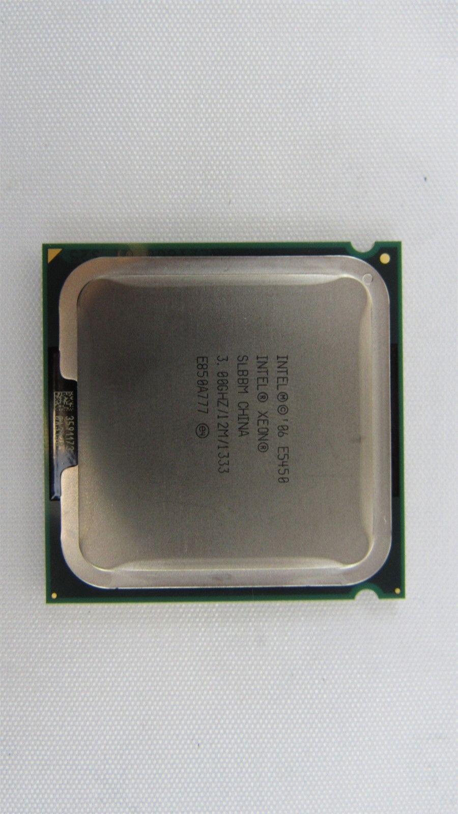 Intel Xeon E5450 Quad Core 3 00GHz 1333MHz 12MB Socket LGA771 Processor  SLBBM