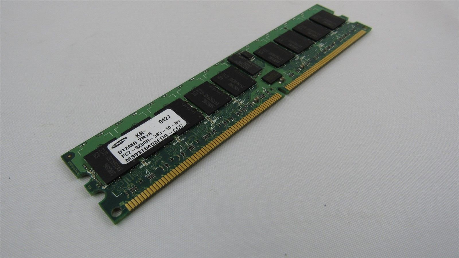 Dell 512MB PC2-5300 DDR2-667MHz non-ECC CL5 240-Pin DIMM Memory H2084 0H2084