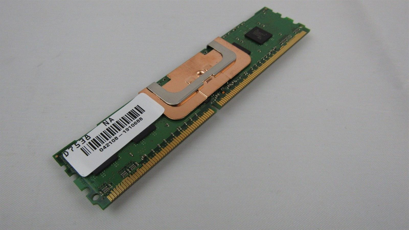 Dell 512MB PC2-4200 DDR2-533MHz non-ECC CL4 240-Pin DIMM Memory D7538 0D7538