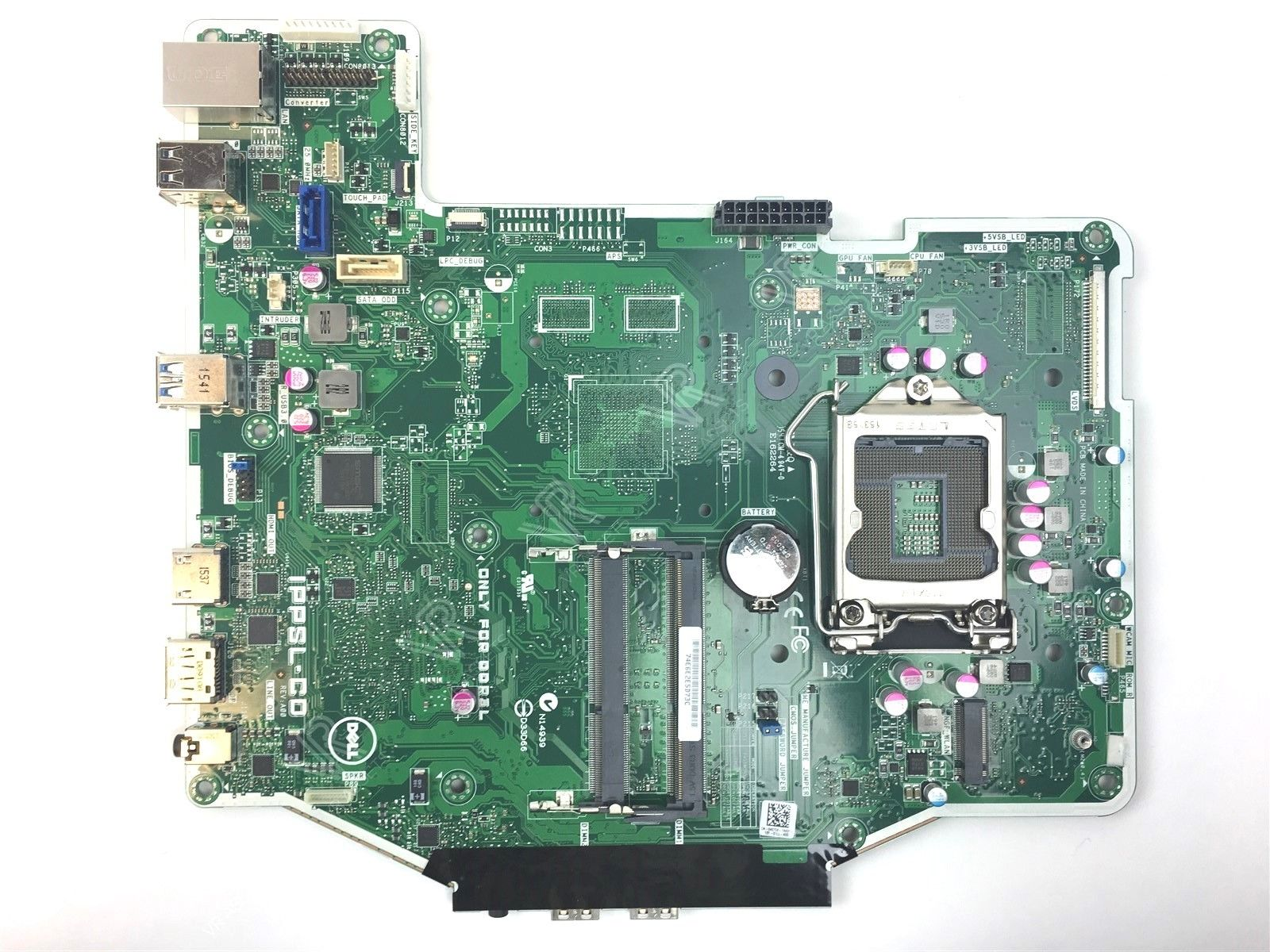 Genuine Dell Optiplex 3240 AIO Desktop Intel Motherboard IPPSL-C0 4075X 04075X
