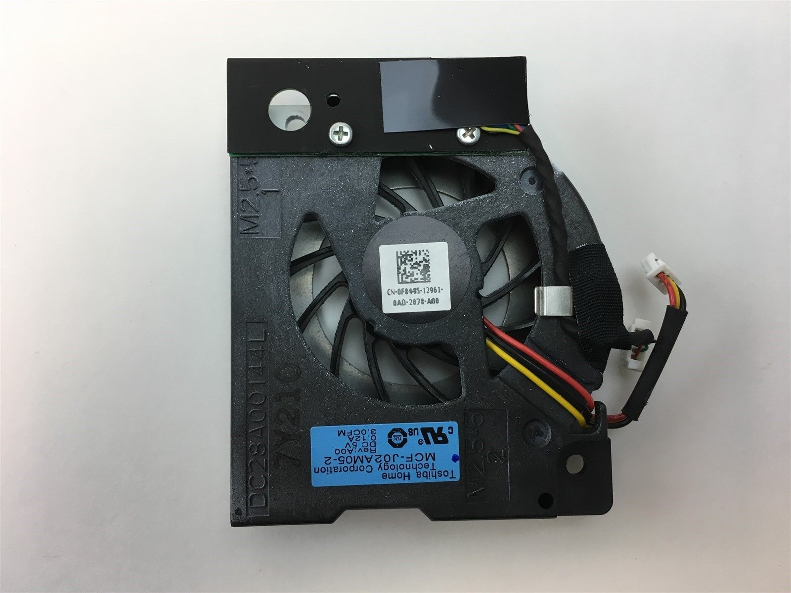 Dell XPS M170 N1710 Cooling Video Card Fan LED MCF-J02AM05-2 F8445 0F8445