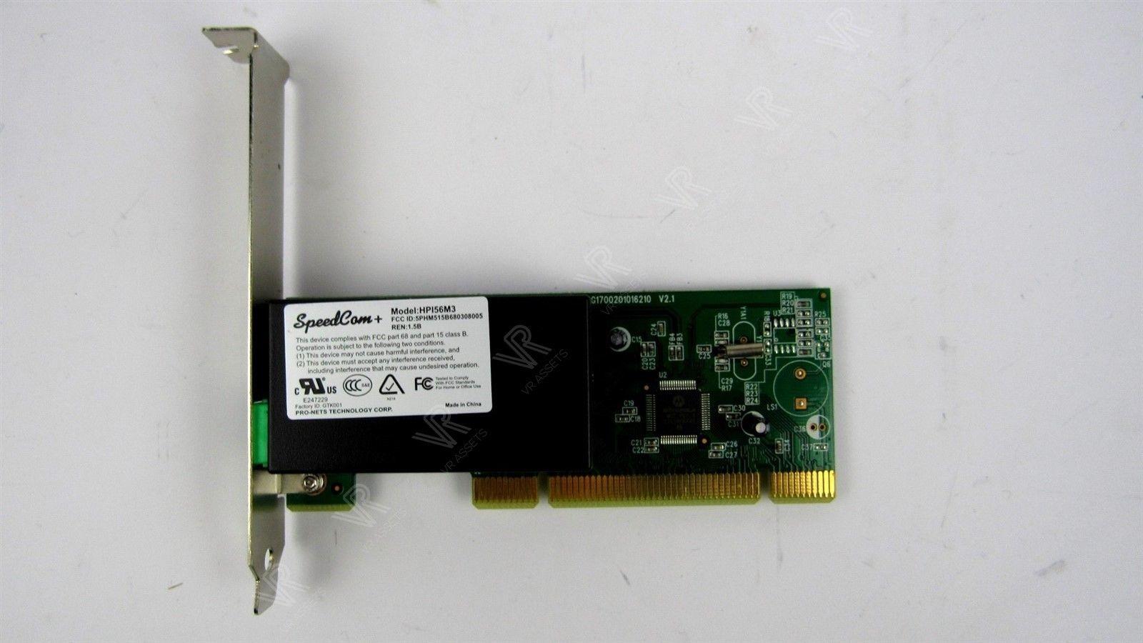 Acer Speedcam HP156M3 Voice Win Modem Card V.90 PCI 56K G1700201016210