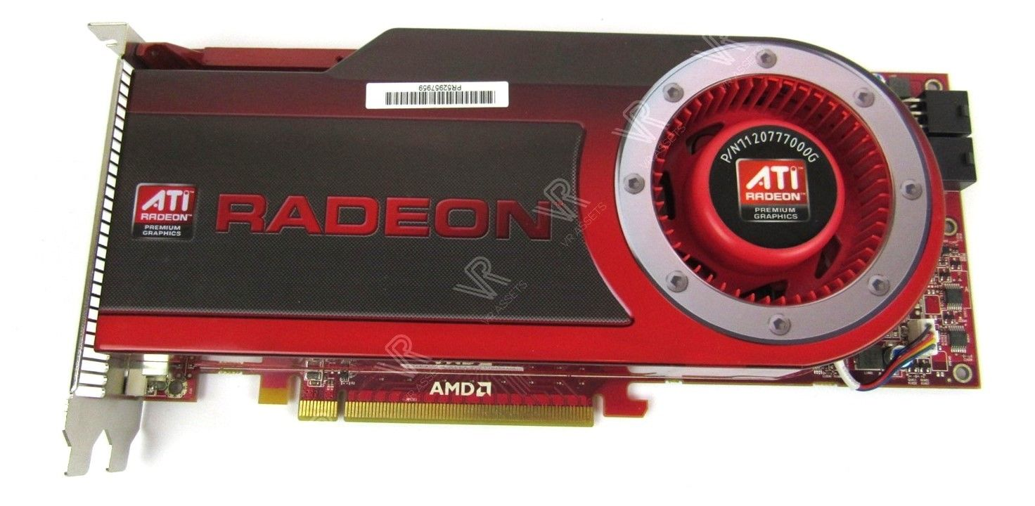 ATI Radeon HD4870 512Mb Video Graphics Card Dual DVI 102B5070110 71212177000G