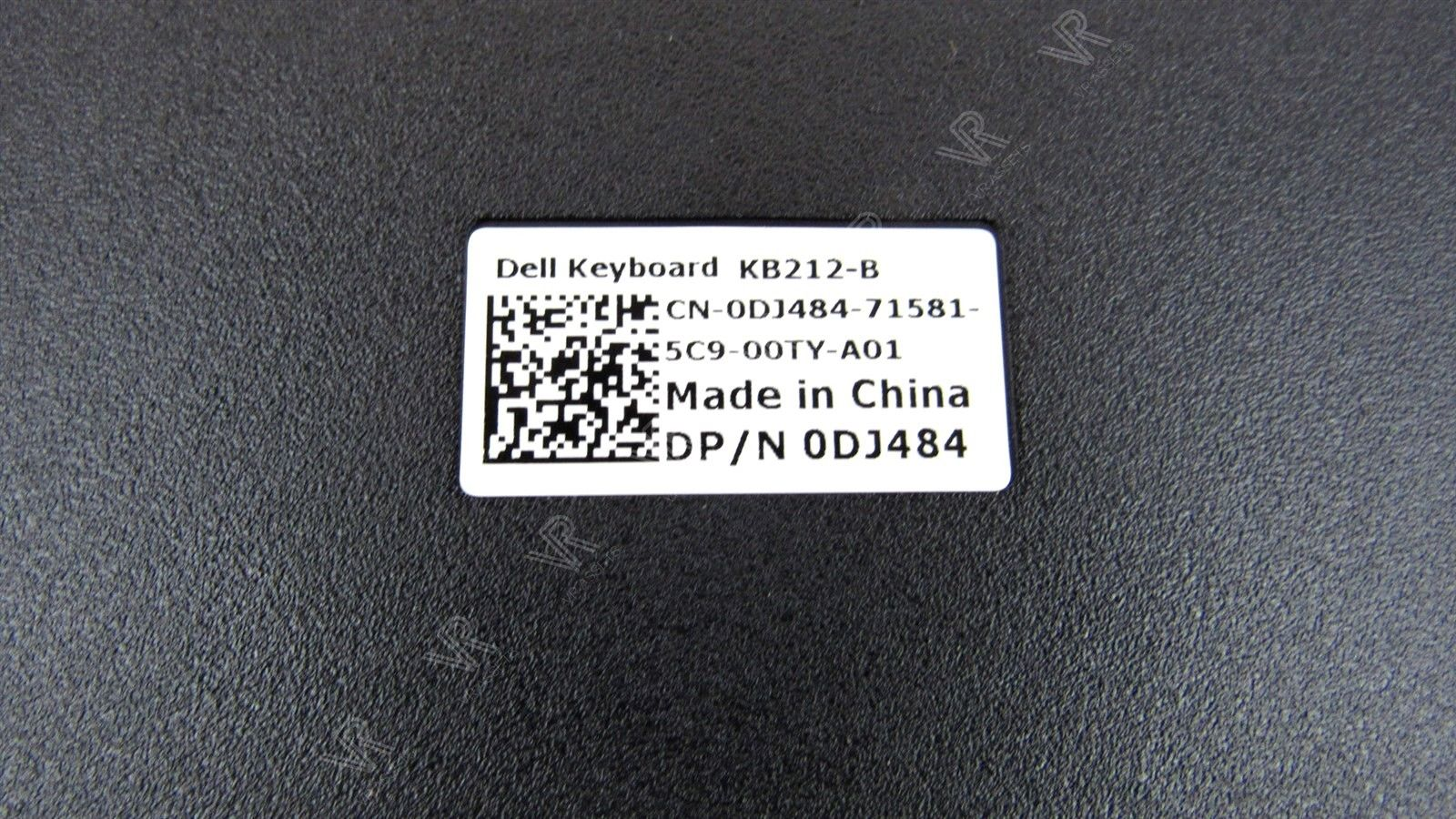 Genuine Dell KB212-B USB Canadian Multilingual Black Keyboard DJ484 0DJ484