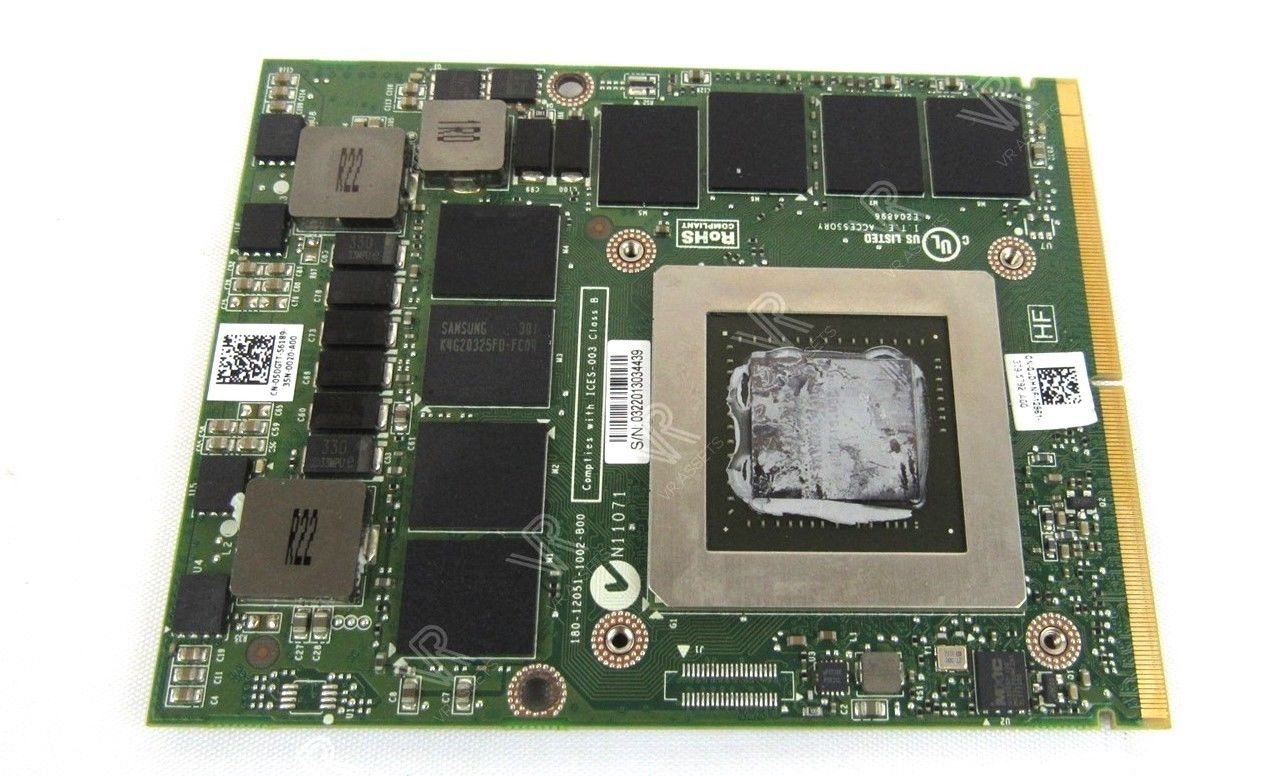 Dell NVIDIA Quadro K4000M 4GB MXM N14E-Q3-A2 Mobile Video Card 5DGTT JDHNF