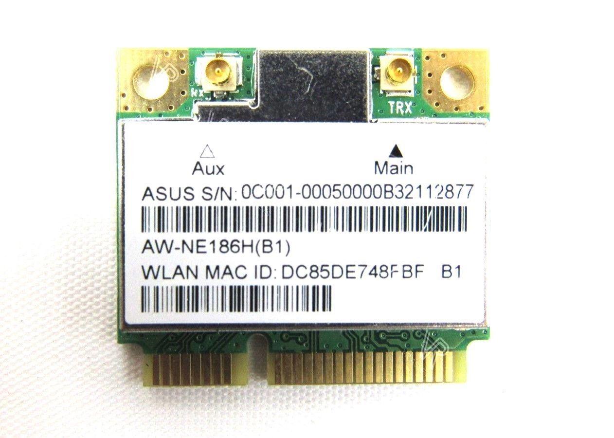 Asus ARB125 Mini PCI-E 802 11 b/g/n Wireless Wifi Card AW-NE186H(B1)