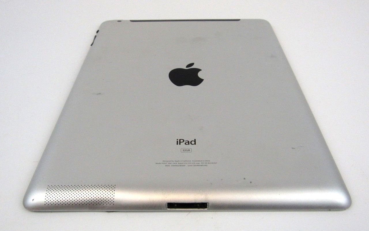 "Apple iPad 2nd Gen 9.7"" 32GB WiFi+3G (Verizon) Black A1397 MC755LL/A AS-IS"