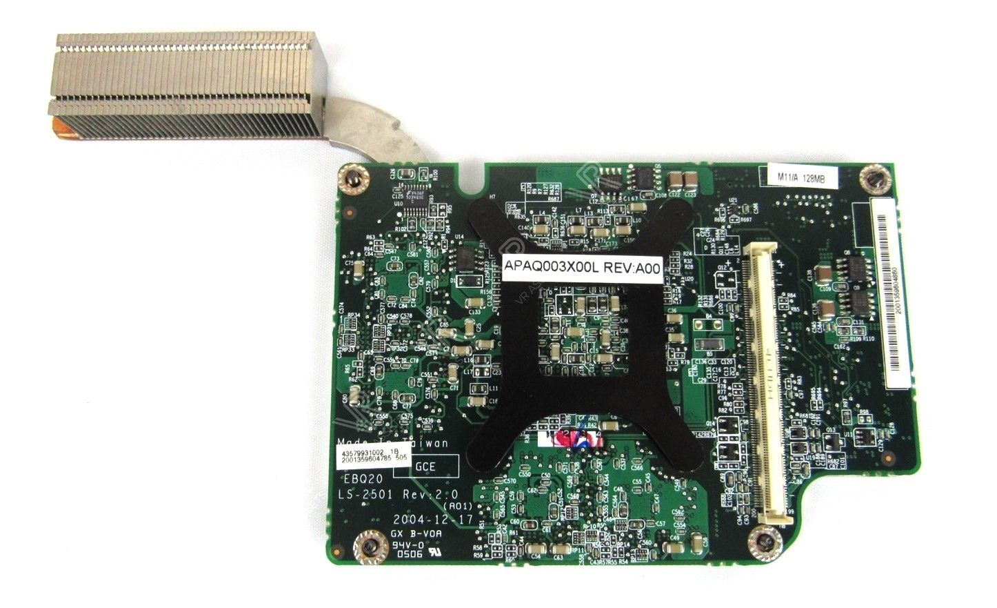 Dell Inspiron 9200 128MB ATI 9700 Laptop Video Card with Heatsink G7354 0G7354