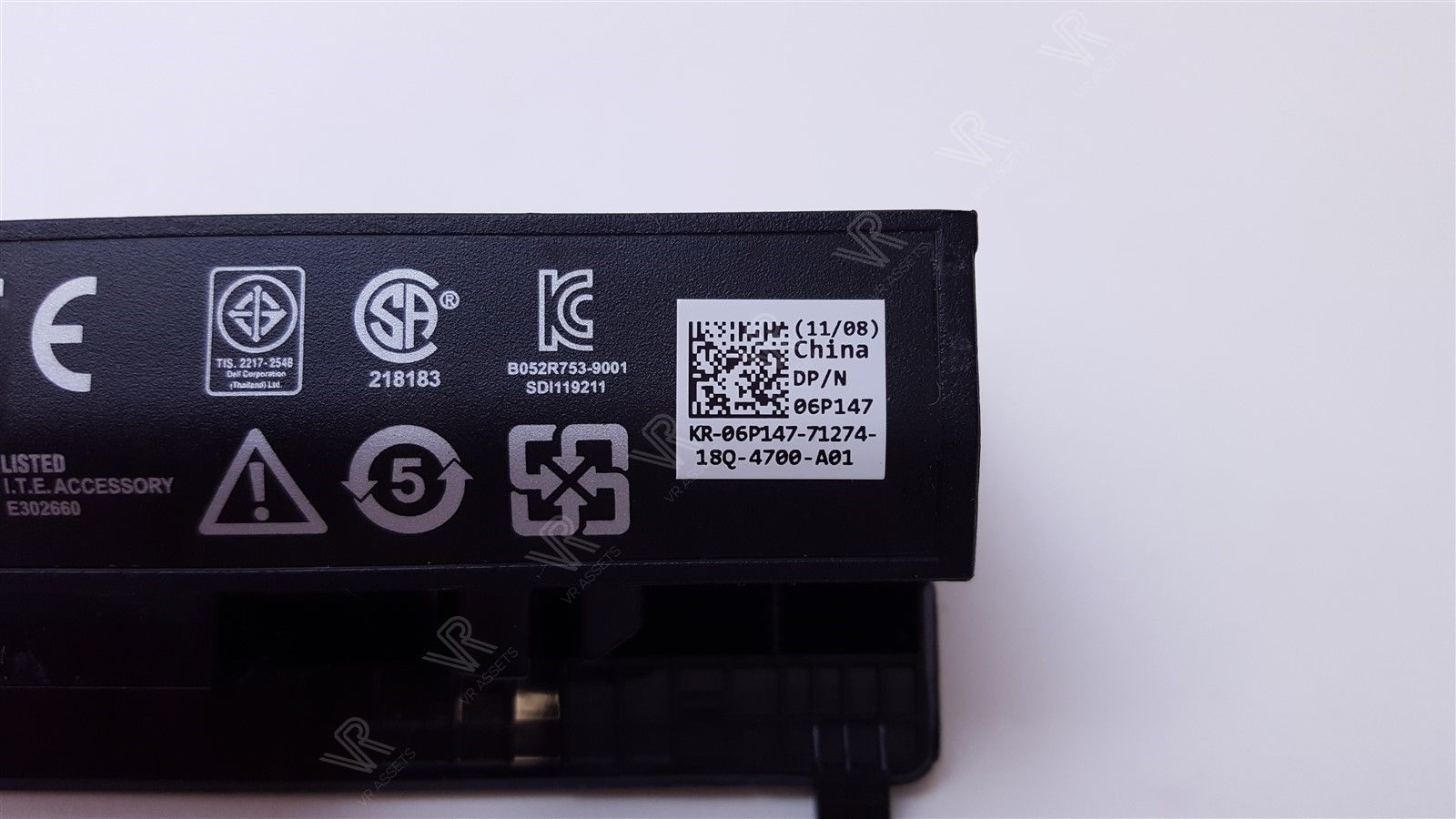 Dell Latitude 2100 2110 2120 56Wh 11.1V 3 Cell Laptop Battery 6P147 06P147 G038N