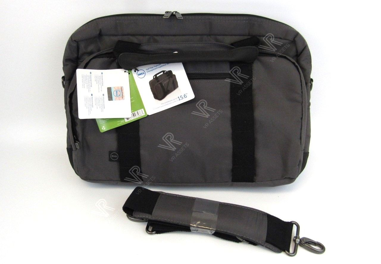 "Dell Toploader 15.6"" Notebook Laptop Bag Briefcase Shoulder Strap N2W33 0N2W33"