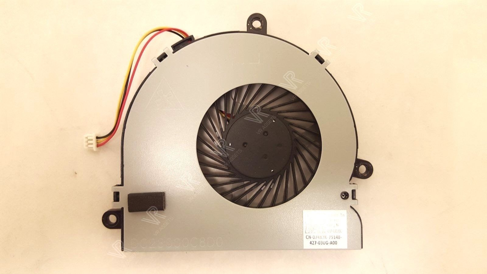 Genuine Dell Inspiron 15 17 Cooling Fan 74X7K 074X7K