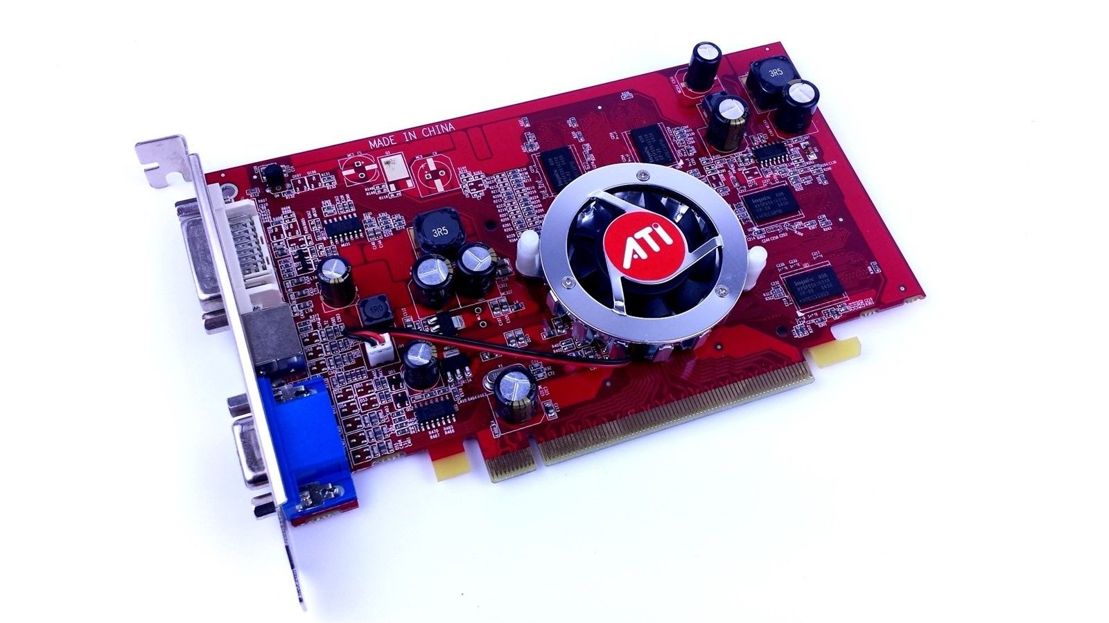 ATI X1050 PCI Express 256MB GDDR2 VGA DVI S-Video Card 100-X1050PCIE-V