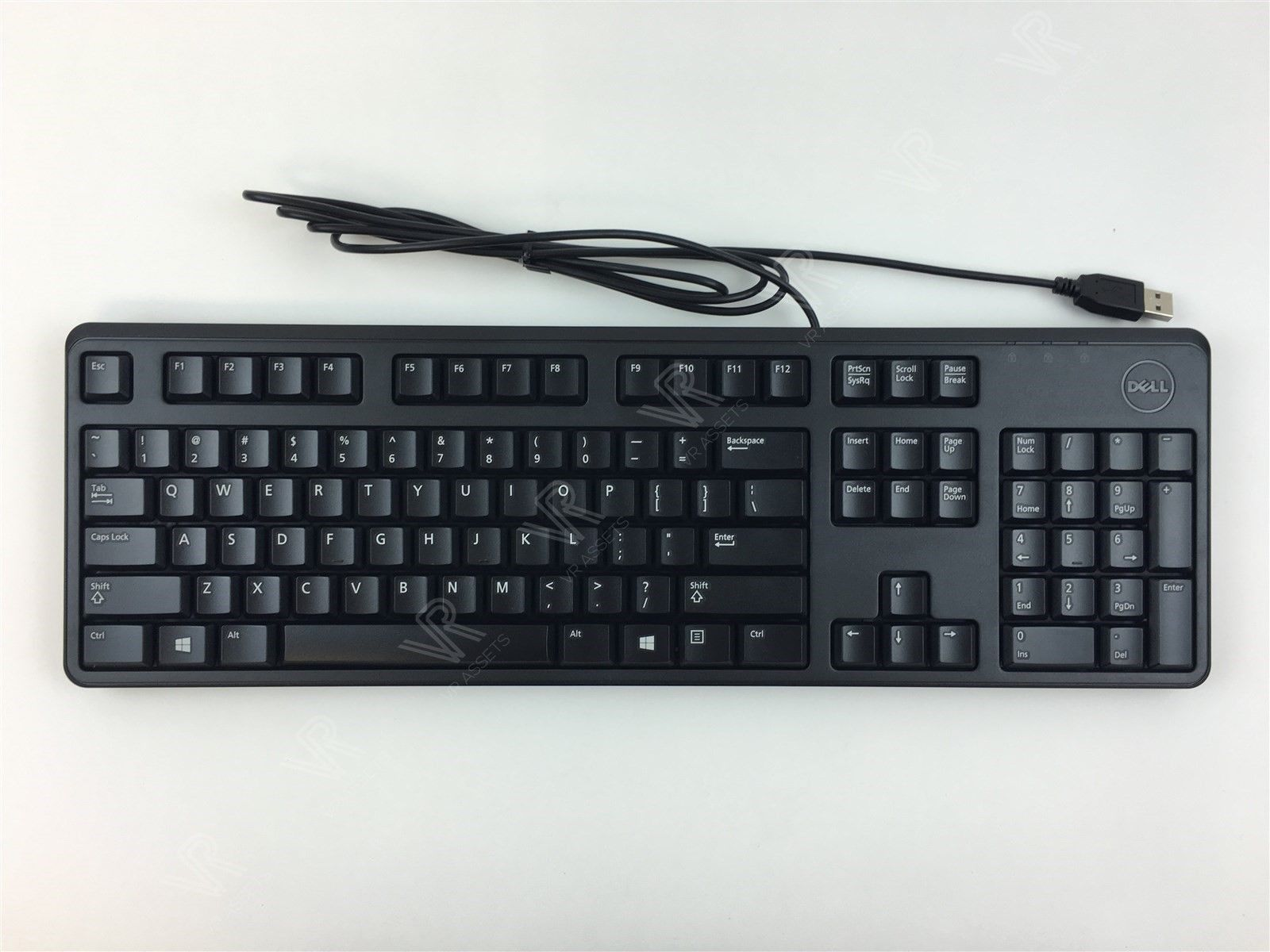 New Genuine Dell KB212-B Black Slim Quiet USB Keyboard Wired 4G481 04G481