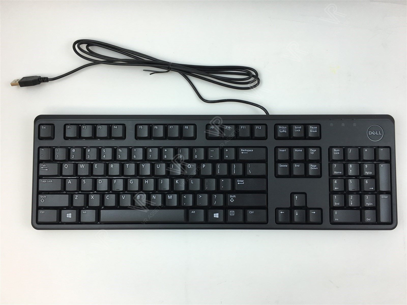 New Dell KB212-B USB 104 Quiet Key Keyboard 0DJ454 DJ454
