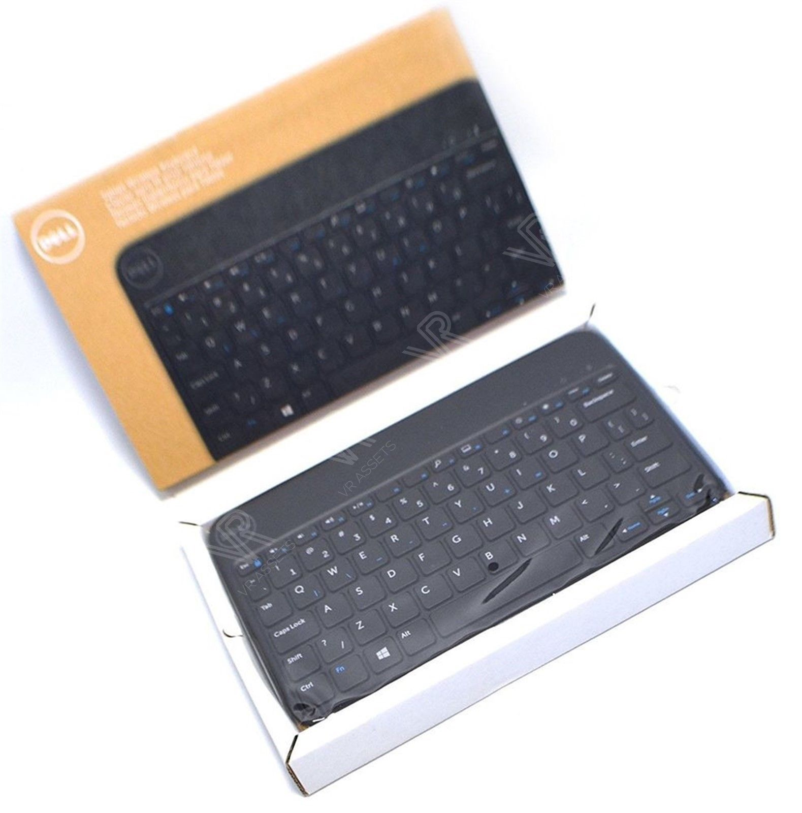 Dell Venue 8 Pro 5830 Tablet Wireless Bluetooth Keyboard w/ Case HP4GD 0HP4GD