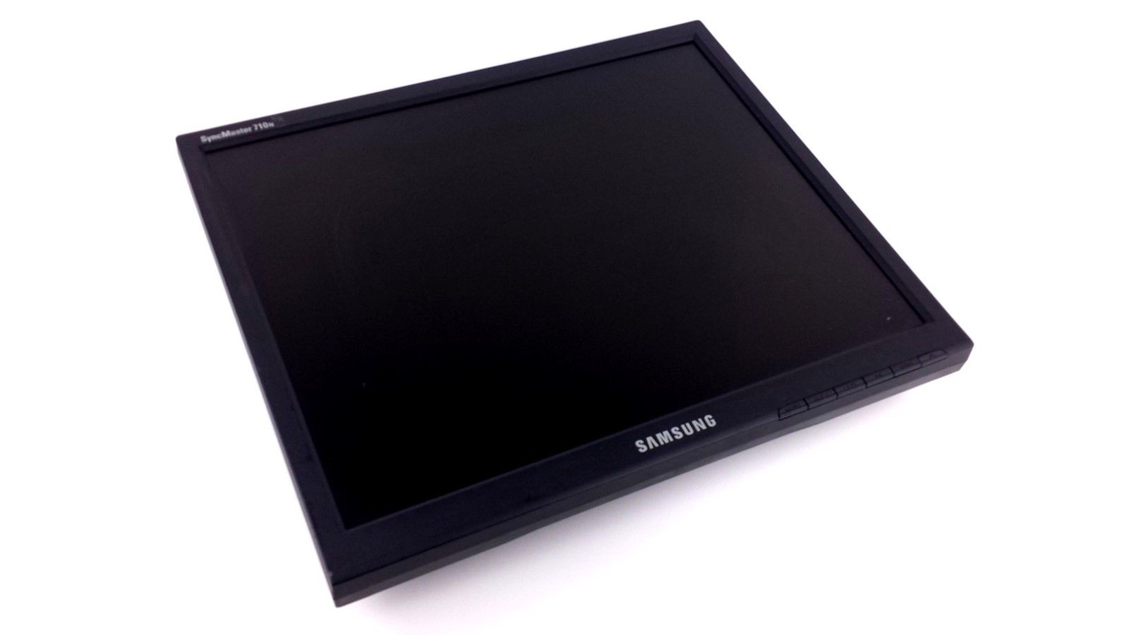 "Samsung GH17LS SyncMaster 710N LCD Computer Monitor 17"" Black MJ17ASKB"