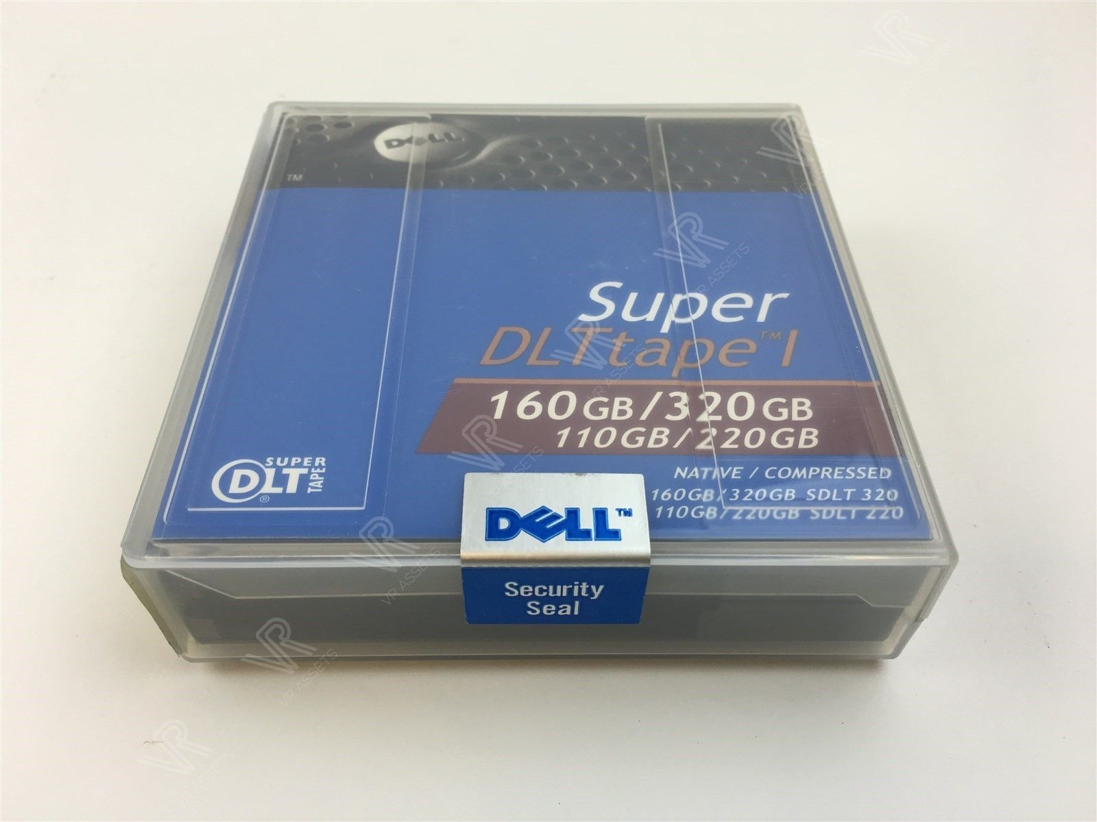 1pk Dell Super DLTtape 1 Data Tape Cartridge 160/320GB 110/220GB 9W085 09W085
