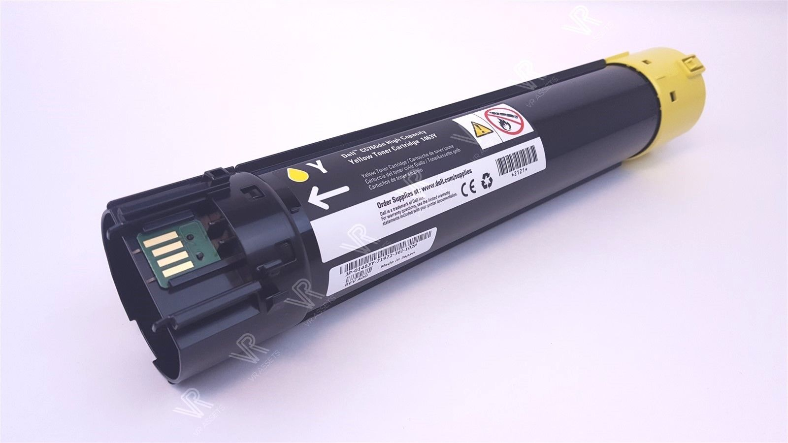 Dell C5765 C5765DN High Yield 12k Pages Capacity Toner Cartridge 1463Y Yellow
