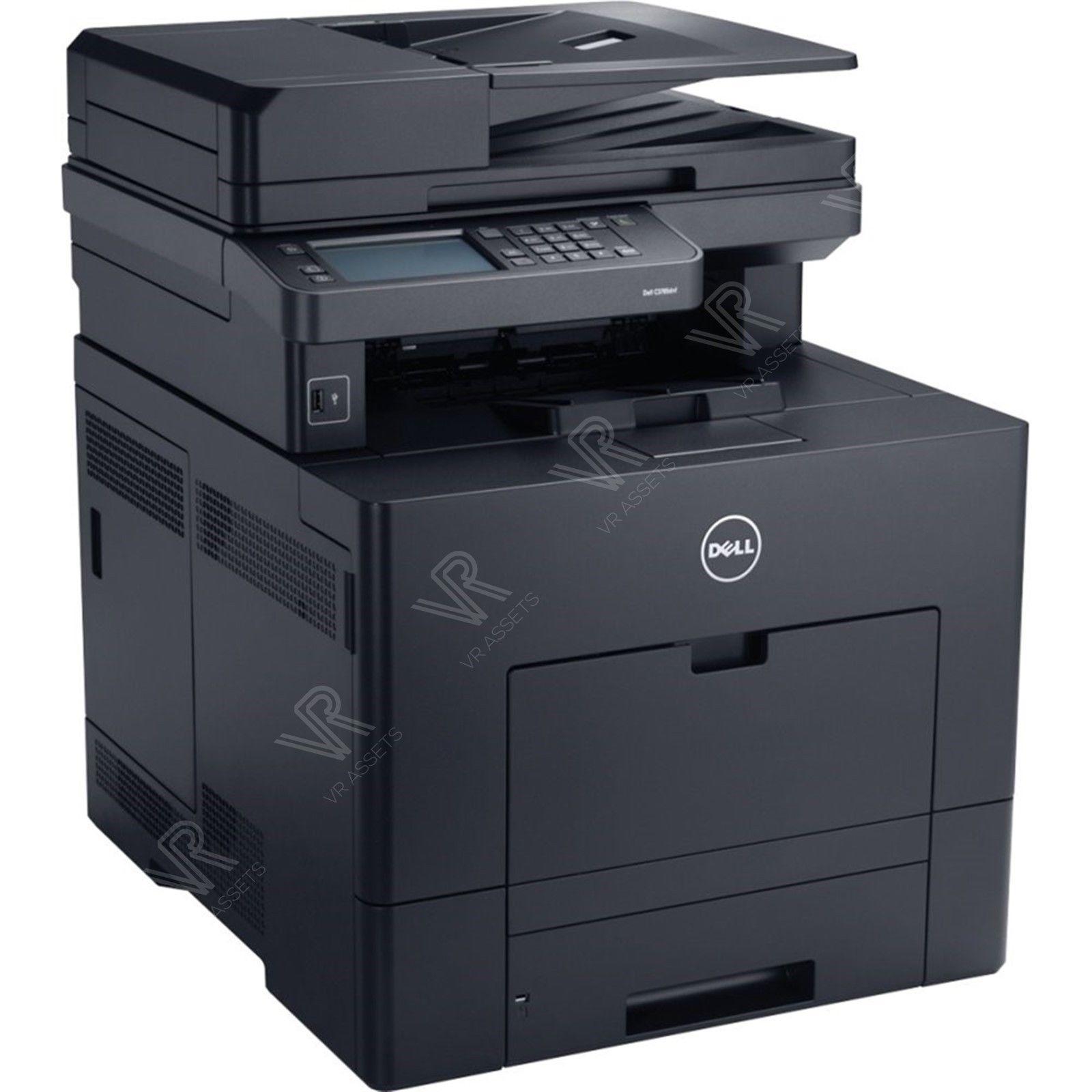 vr assets dell c3765dnf multifunction laser color network printer scanner copier fax new. Black Bedroom Furniture Sets. Home Design Ideas