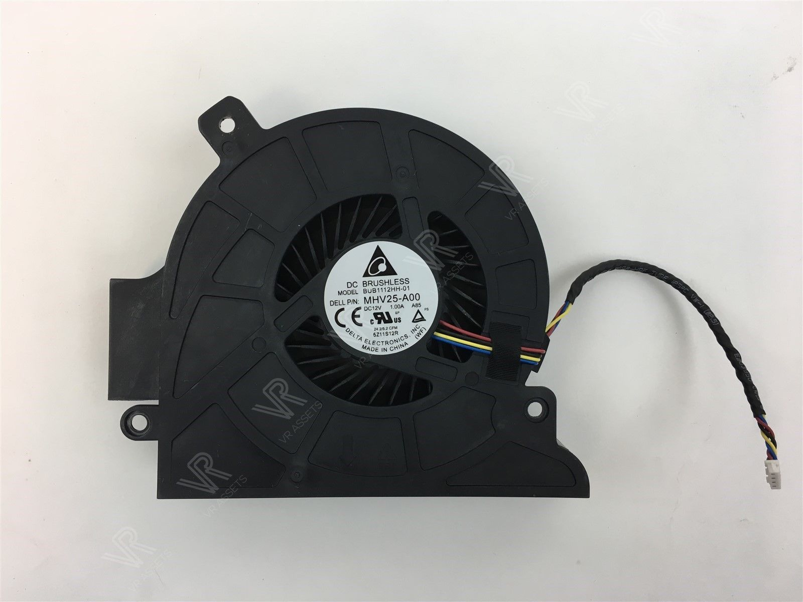 Dell Optiplex 3440 7440 AIO CPU Cooling Fan DC Brushless MHV25-A00 MHV25 0MHV25