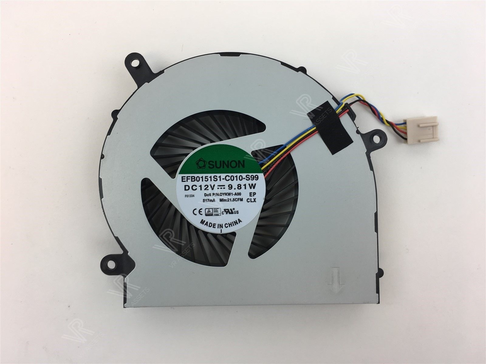 Genuine Dell Inspiron 24-5459 AIO CPU Cooling Fan DYKW1 0DYKW1