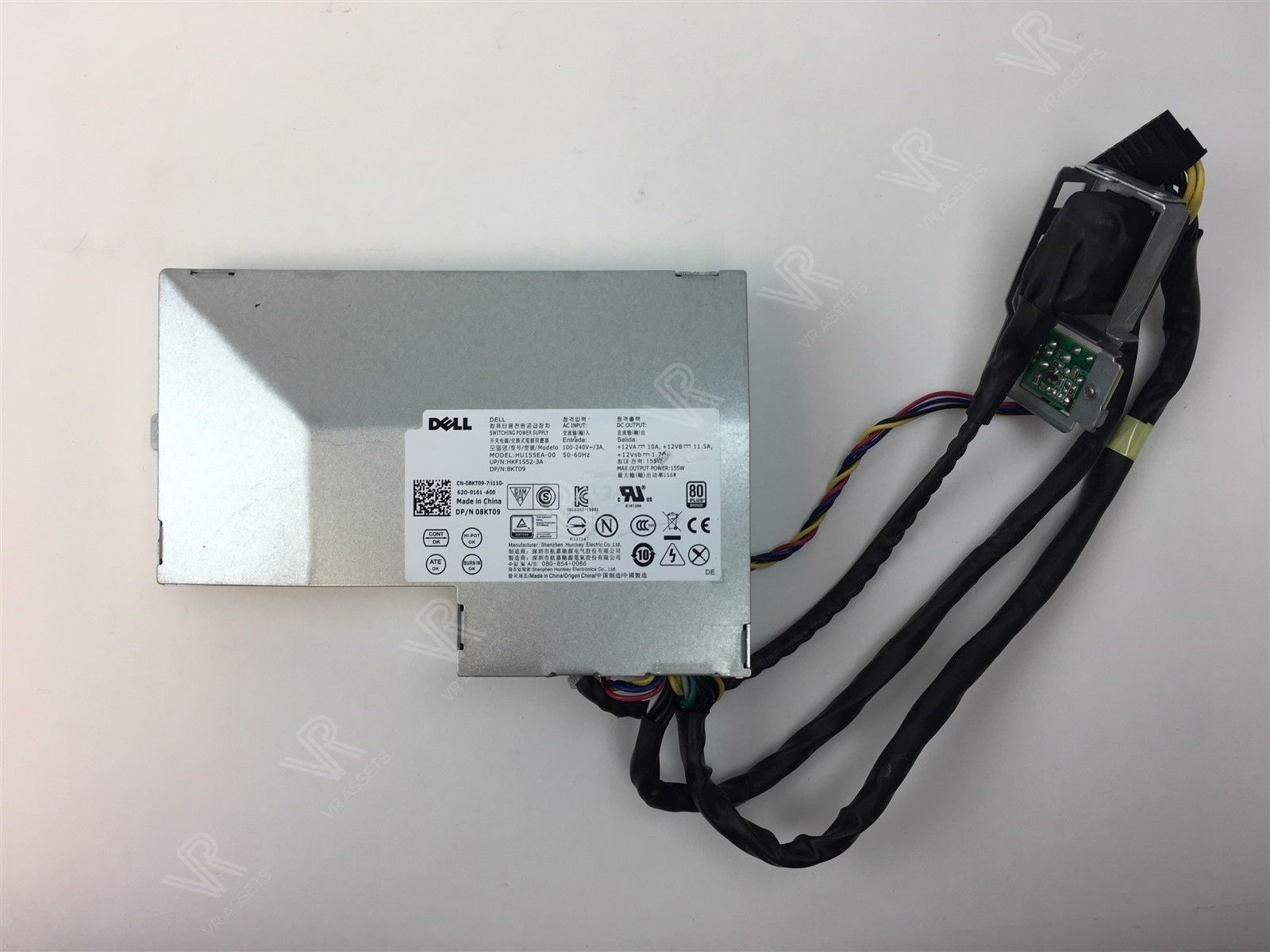 Genuine Dell Optiplex 3440 7440 AIO 155W HU155EA-00 Power Supply 8KT09 08KT09