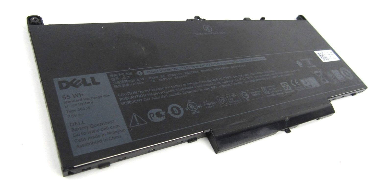 Dell Latitude E7270 E7470 7.6V 55Whr Li-Ion Laptop Battery 1W2Y2 01W2Y2