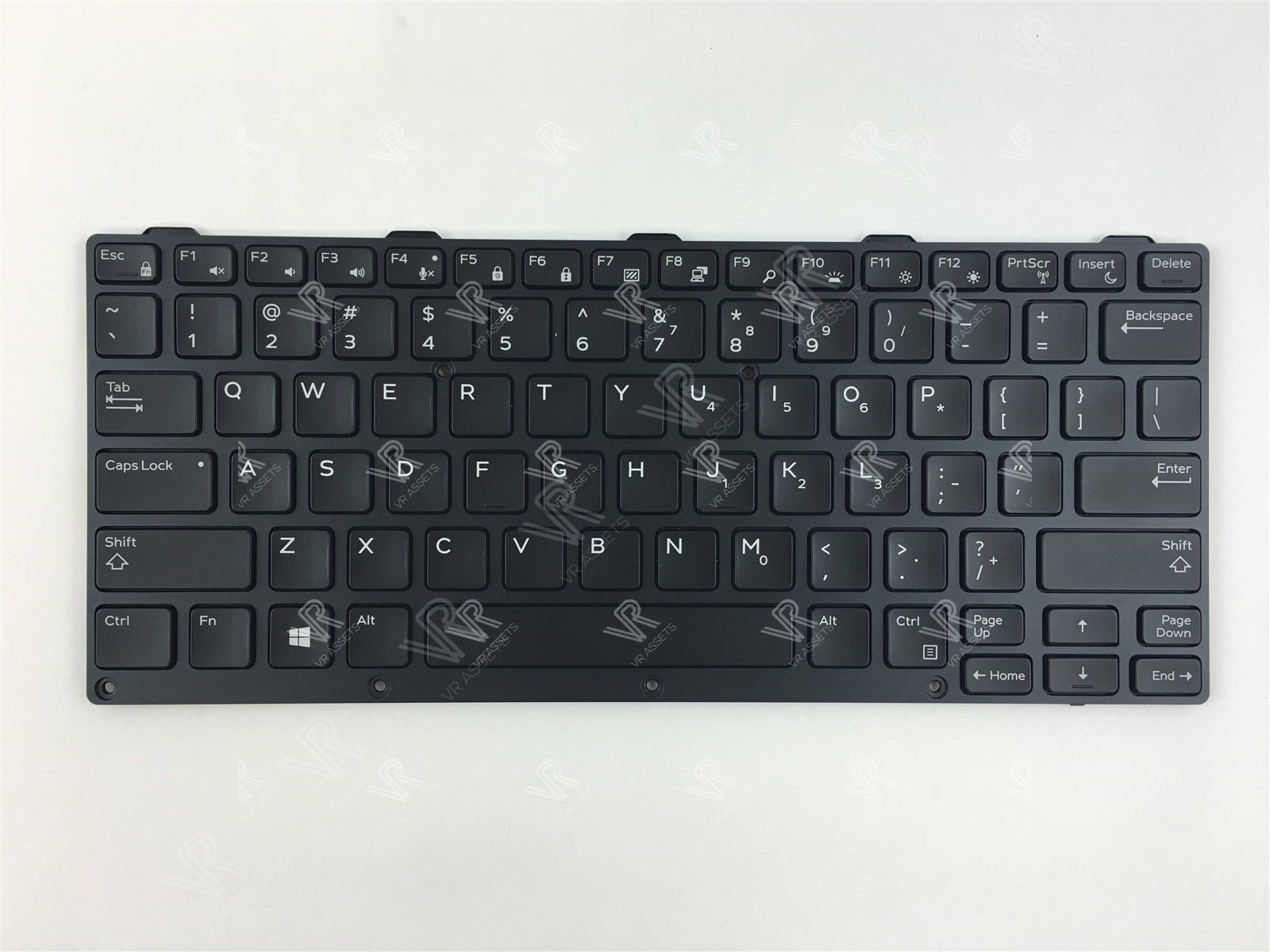 Genuine Dell 0KNJ-1L1US13 NSK-LKCBU US Black Backlit Keyboard 186TV 0186TV