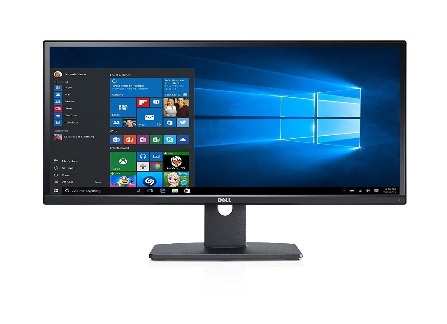 "Dell U2913WM 29"" UltraSharp HDMI DisplayPort 21:9 Ultra Widescreen Monitor New"