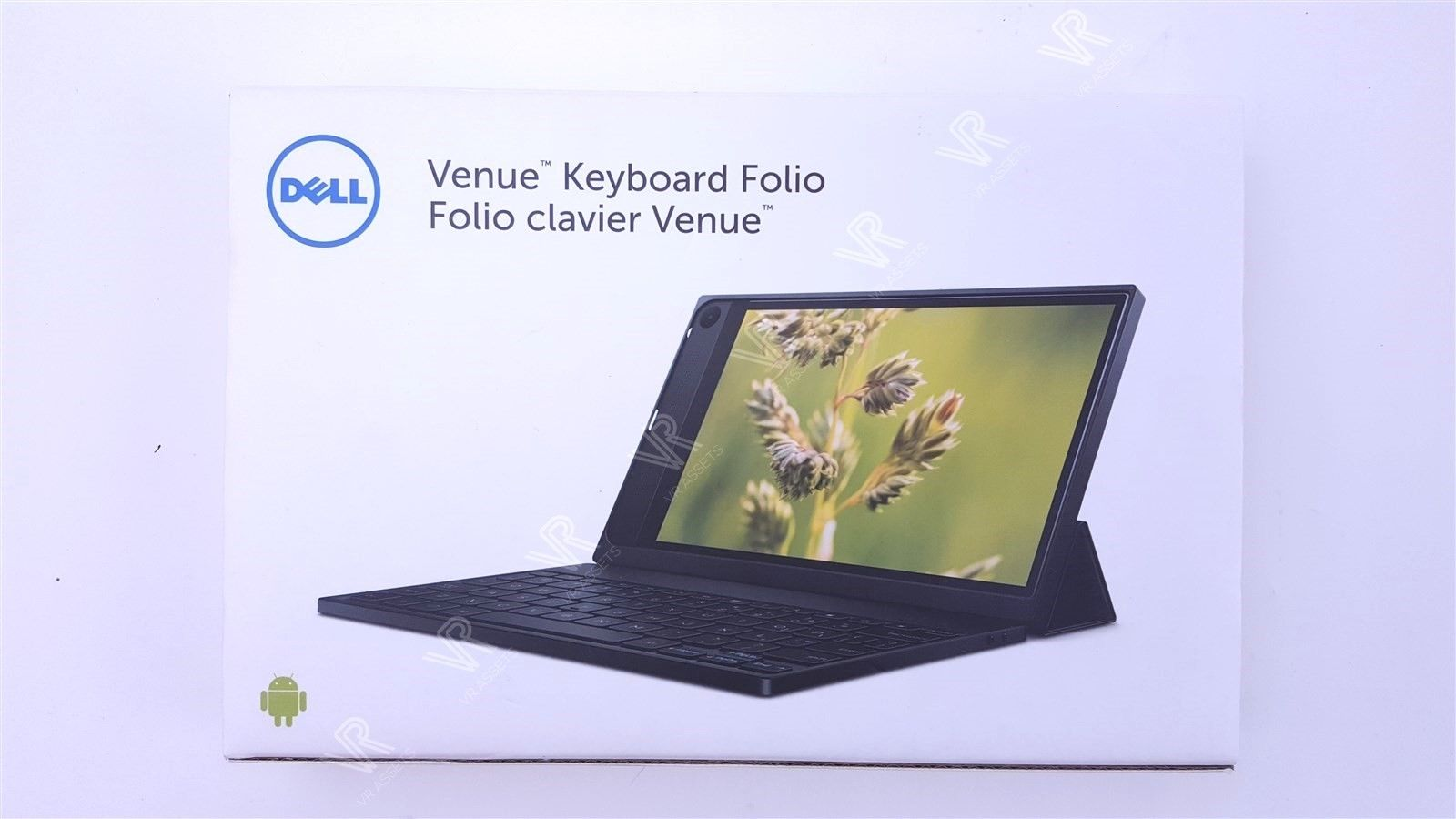 Dell Venue 8 7840 Slim Tablet Bluetooth Keyboard w Cover 580-ACYR Y7XKV NEW