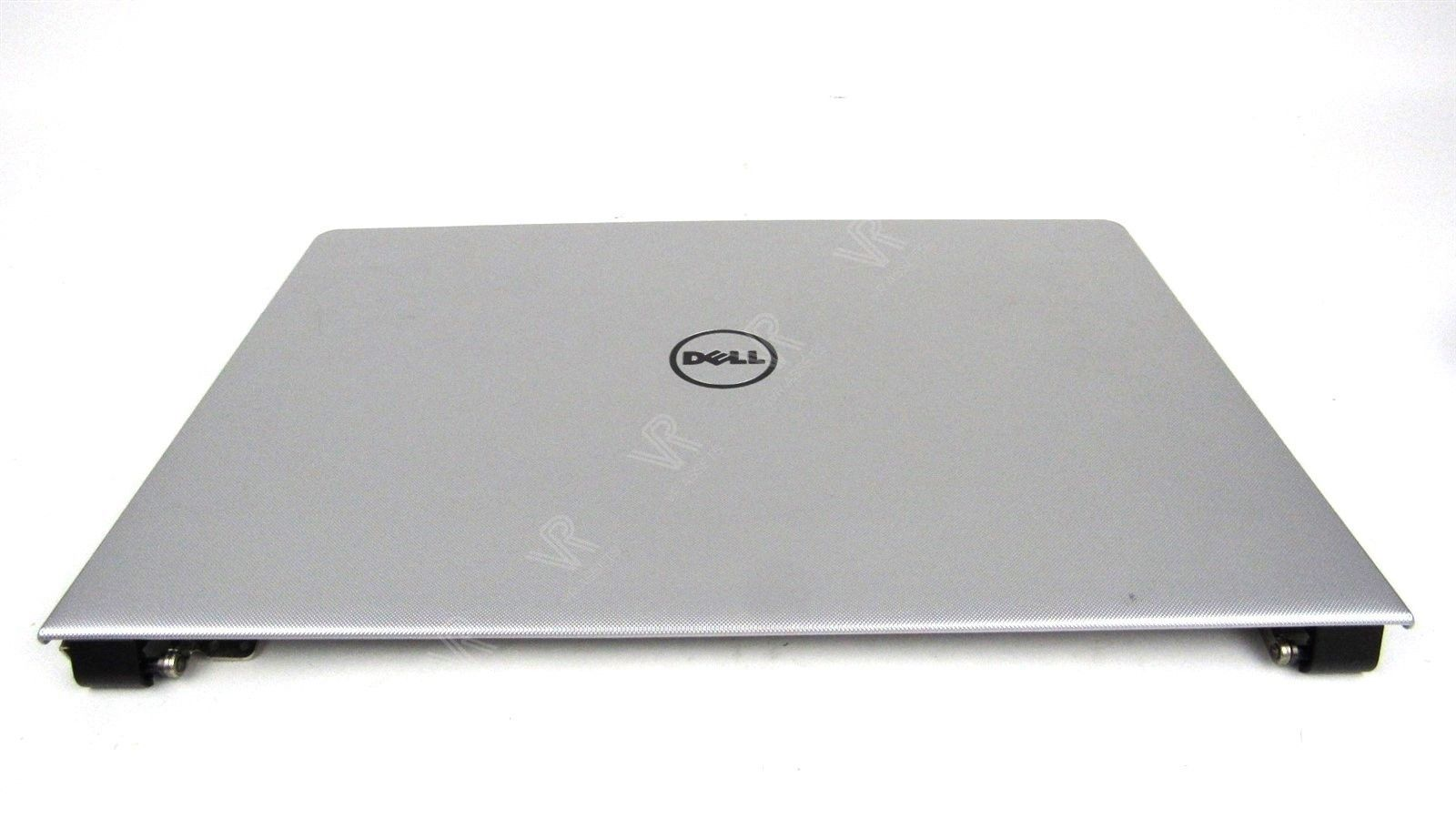 Dell Inspiron 15 5558 15.6/'/' LCD Back Cover Lid Silver with Hinges 7NNP1 07NNP1