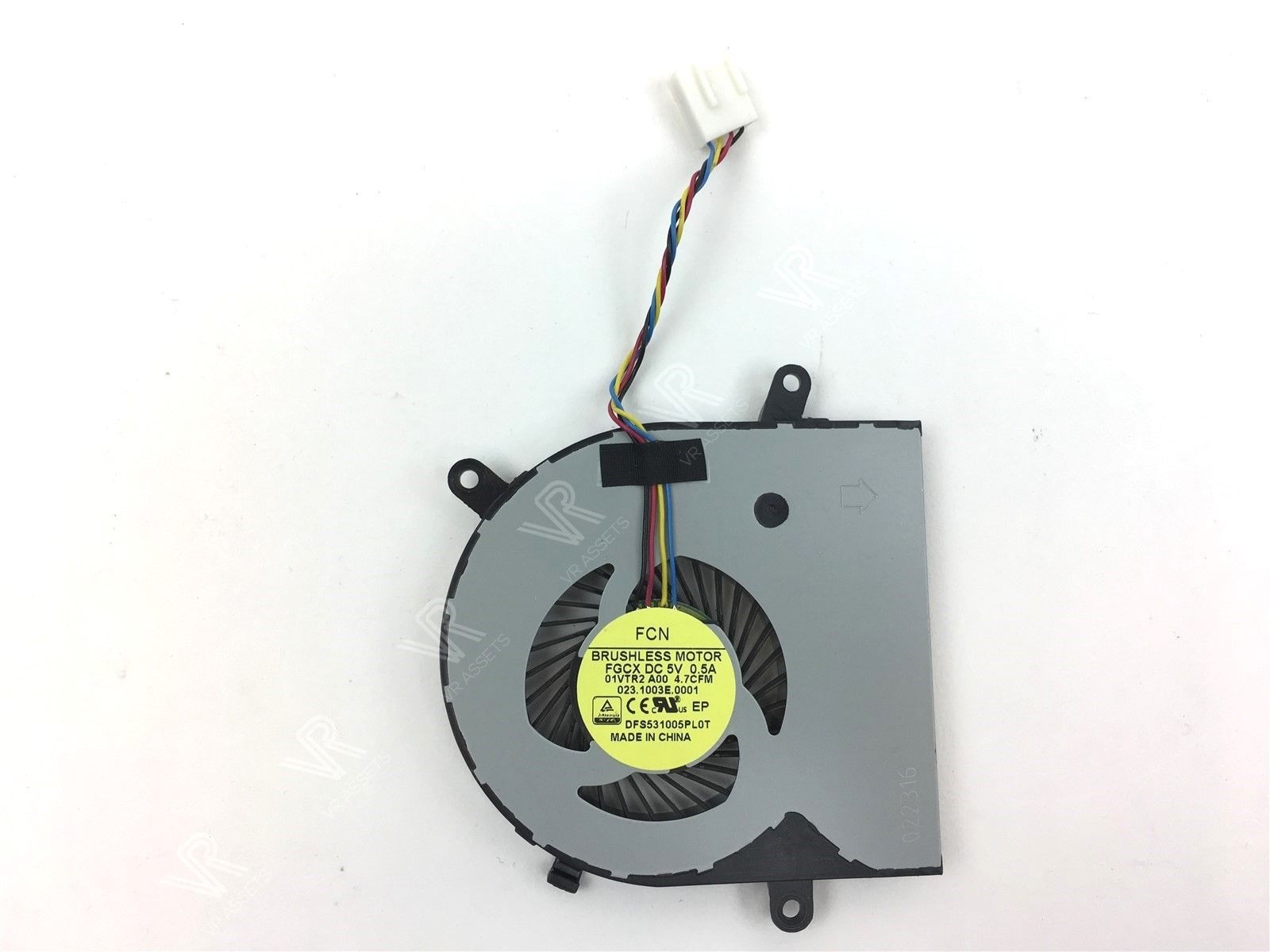 Dell Inspiron 24-3455 24-3459 AIO CPU Cooling Fan DC Brushless FGCX 1VTR2 01VTR2