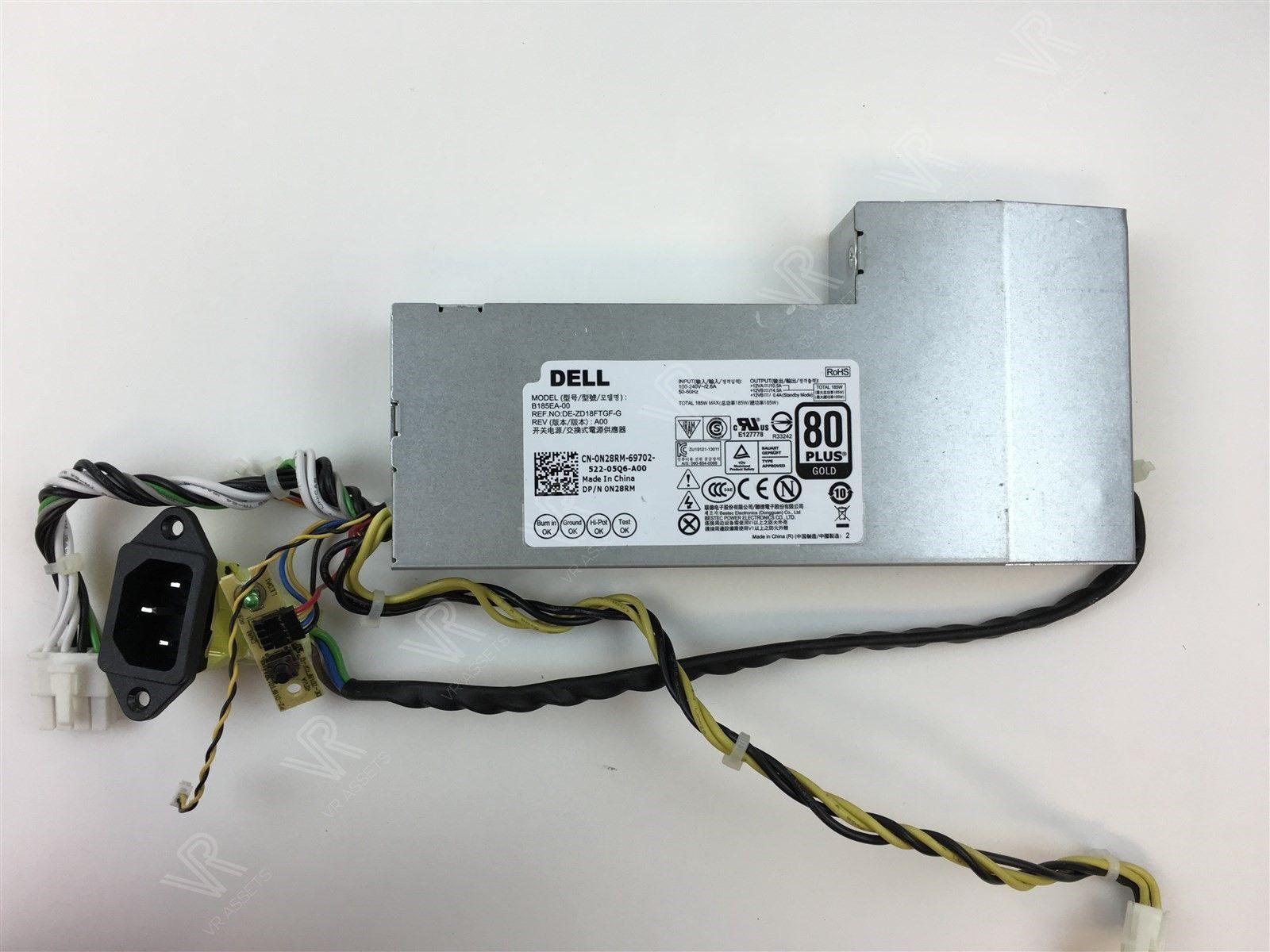 Dell Inspiron 23 AIO PC 5348 Series 185 Watt Power Supply N28RM 0N28RM
