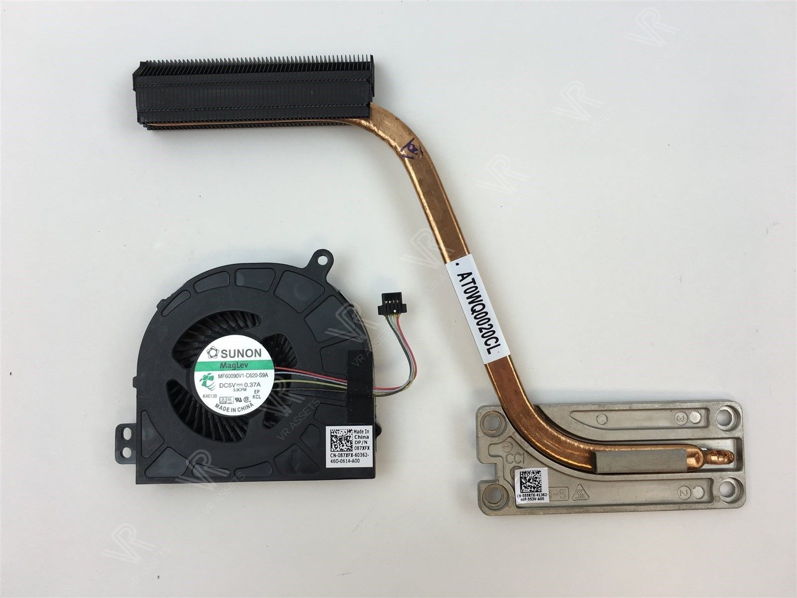 Dell Latitude E5440 Cooling Heatsink Fan Set Assembly 55RTX 055RTX 87XFX 087XFX