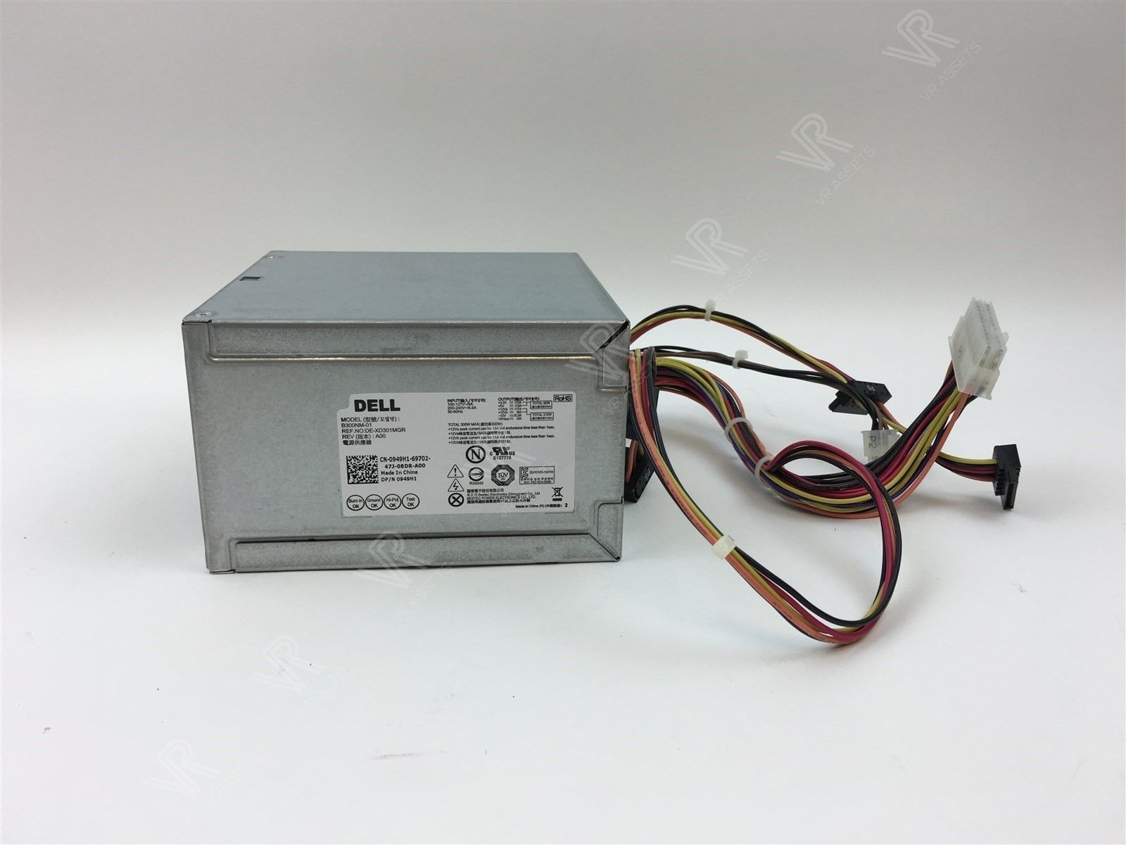 Genuine Dell Inspiron 3847 3000 Series 300W PSU Power Supply 949H1 0949H1