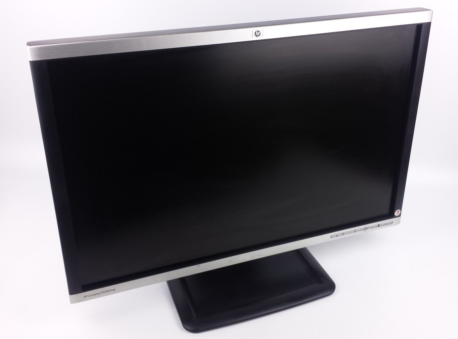 "HP LA2405wg Widescreen LCD Display Monitor 24"" NL773A w/ Power & VGA Cord"