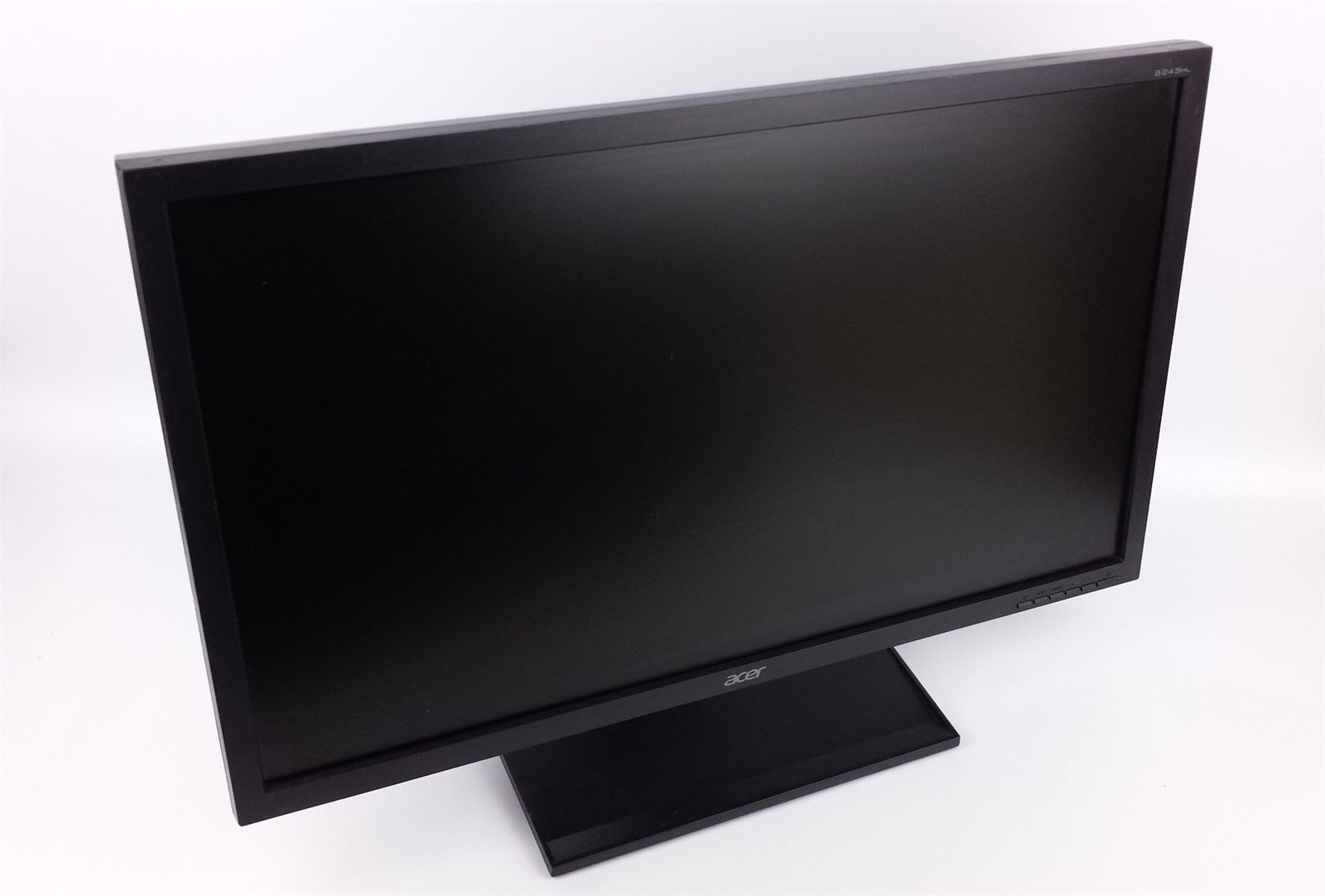 "Acer B243HL DJObmdr Widescreen LED LCD Display Monitor 24"" w/ Power & VGA Cord"