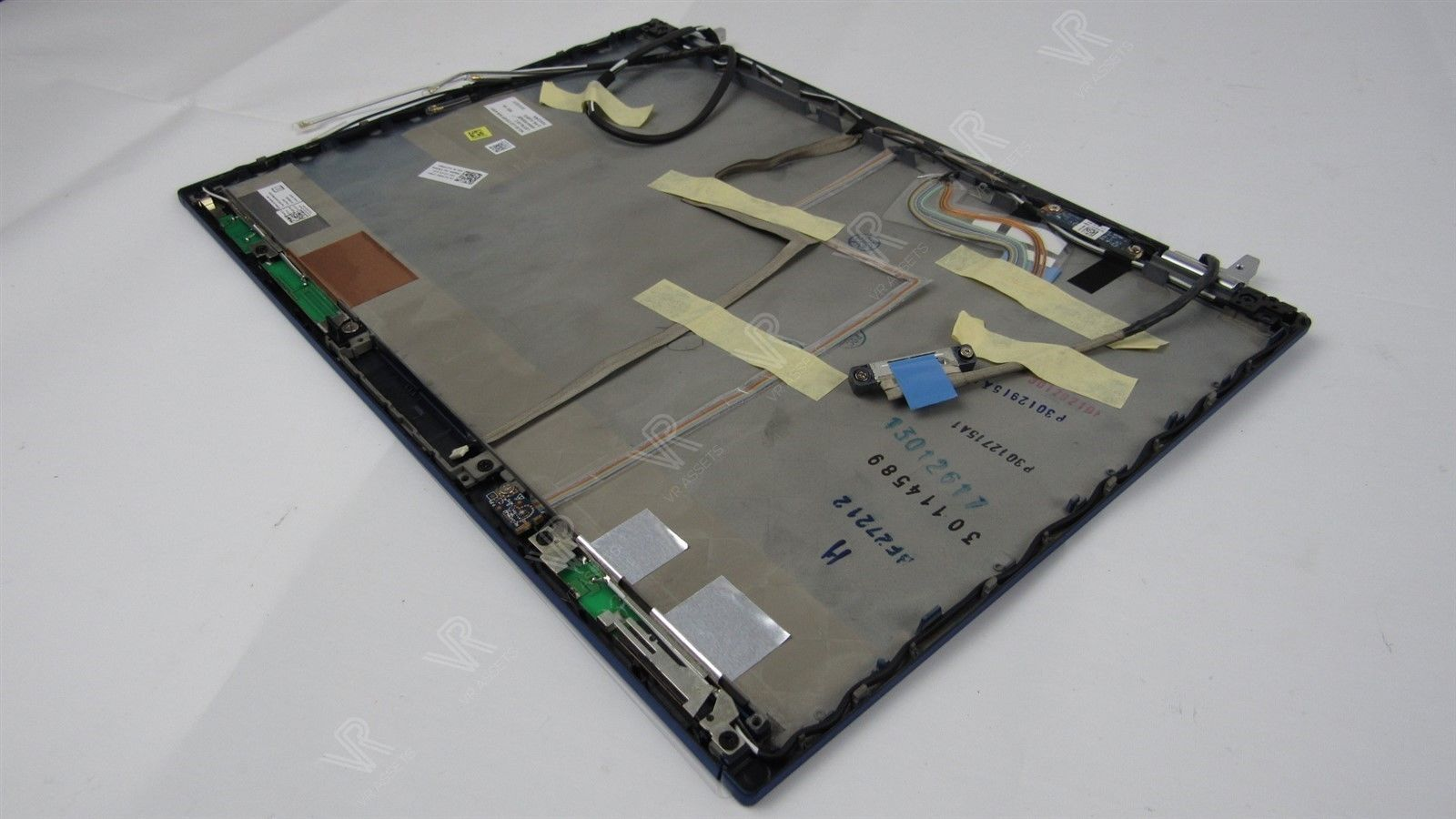 "Dell Latitude E6410 14"" LCD Laptop Screen Cover with Hinges Blue 27D8G 027D8G"