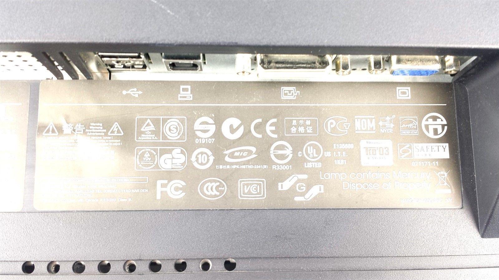 HP L1950G LCD Computer Display Monitor 19