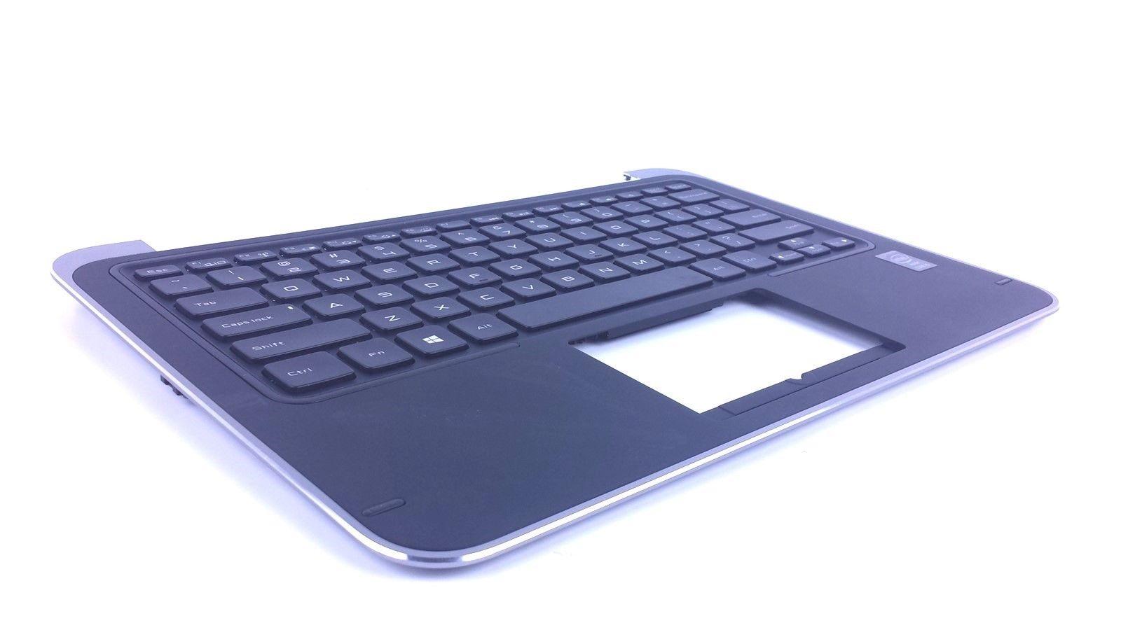 Genuine Dell XPS 12 9Q33 Genuine Laptop Palmrest Keyboard P6DWF 20P5F 9WCC8