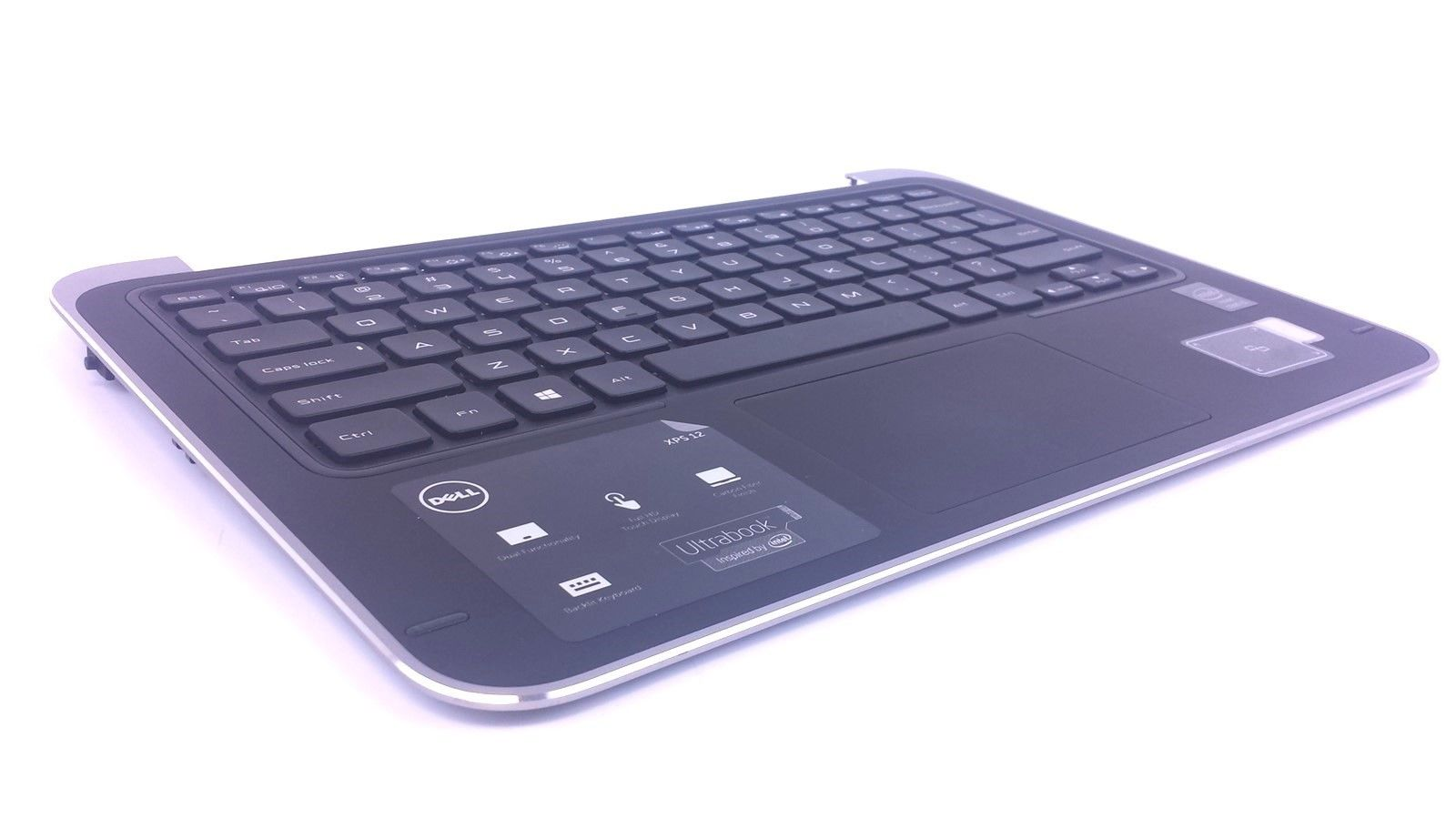 Dell XPS 12 9Q33 Assembly Genuine Laptop Palmrest Touchpad 20P5F Keyboard P6DWF