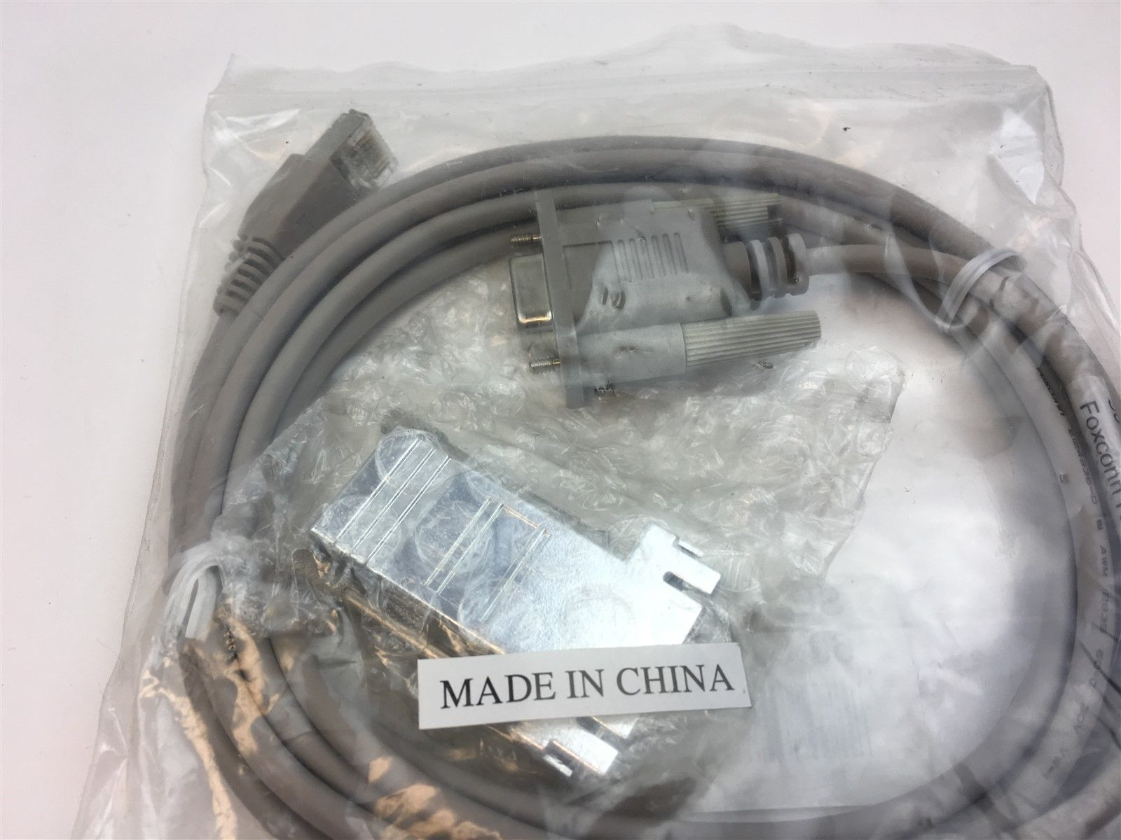 60-0000890-02 Serial 9-pin Female F to TP RJ45 Console Cable New