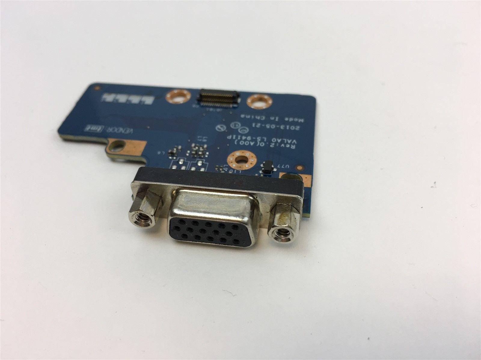 Dell Latitude E6540 VGA Port Circuit Board Assembly 8992W 08992W LS-9411P